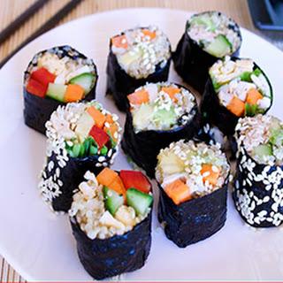 Quinoa Sushi.
