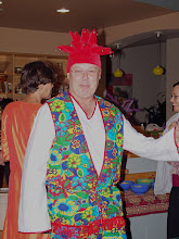 Photo: George at his most  colorful  .- .jpg