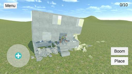 Destruction physics: explosion demolition sandbox screenshots 8