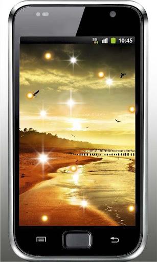 Ocean Sunrise live wallpaper
