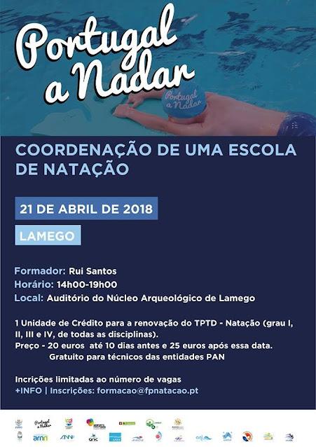 """Lamego recebe formação do """"Portugal a Nadar"""""""