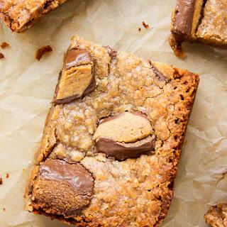 (Vegan) Peanut Butter Blondies