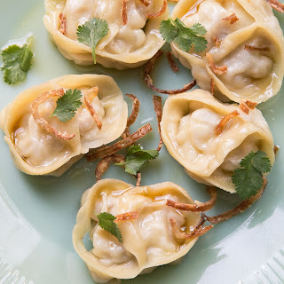 Steamed Pork Belly Dumplings with Brown Butter (Manti) Recipe