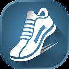 Schrittzähler Kalorien Schritt icon