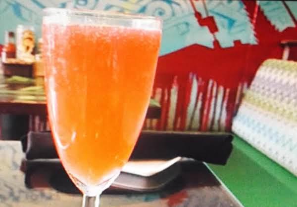 Hibiscus Sparkling Wine Cooler Recipe