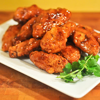 Extra-Crispy Thai Sweet and Spicy Wings.