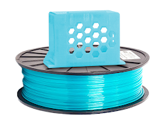 Translucent Aqua PRO Series PETG Filament - 1.75mm (1lb)