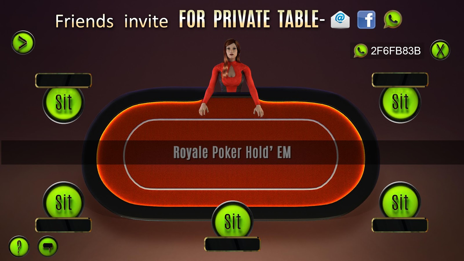 🃏 Royale Holdem Poker Live 🃏- screenshot