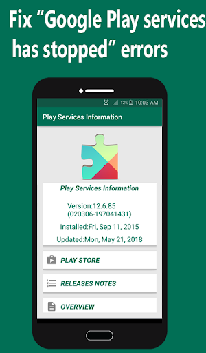 Help Play Store & Google Play Services Error 1.1.3 screenshots 4