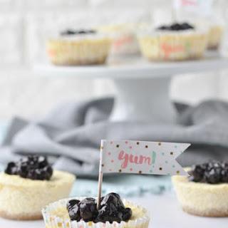 Mini Keto Blueberry Cheesecakes Recipe