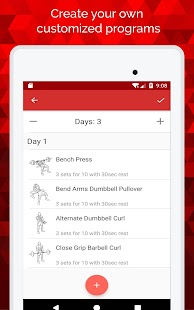Powr - Weight Lifting Tracker & Bodybuilding Log- screenshot thumbnail