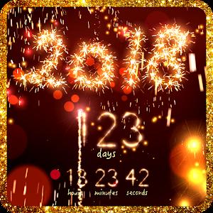 Año nuevo cuenta atrás