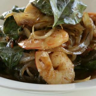 Prawn, Ginger and Lemongrass Stir-Fry Recipe