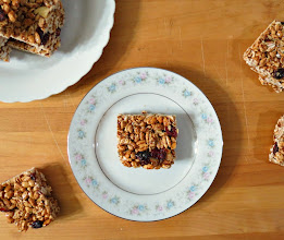 Photo: Cranberry and Almond Puffed Wheat Bars - A light puffed wheat snack bar made with almonds, cranberries and cinnamon.  http://www.peanutbutterandpeppers.com/2013/01/29/cranberry-and-almond-puffed-wheat-bars/  #puffedwheat   #snacks   #granolabars   #cranberries   #nuts   #TraderJoes