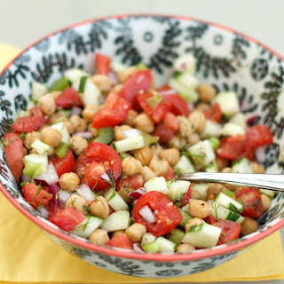 BUSH'S® Cucumber and Chickpea Salad with Citrus
