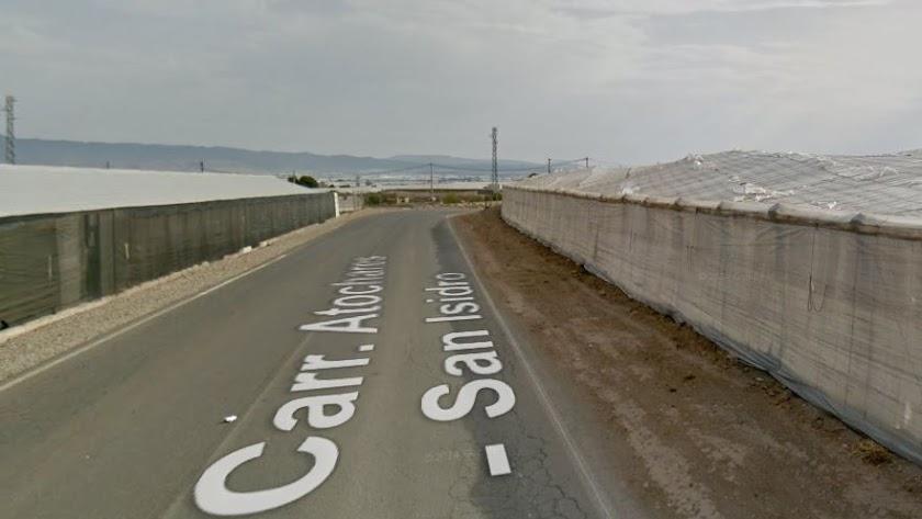 Captura de pantalla de Google Maps de la carretera en la que ha ocurrido el siniestro.