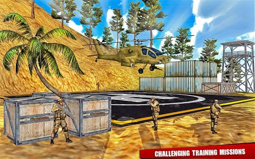 Army Training camp Game screenshot 04