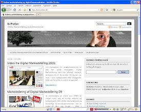 Photo: Ib Potter - blogger og podcaster om online marketing.