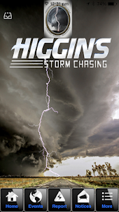 Higgins Stormchasing screenshot for Android