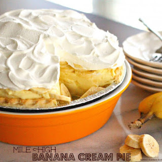Mile High Banana Cream Pie.
