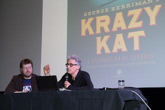 Photo: Andorrassa Patrick McDonnellin luennon aiheena oli Krazy Kat