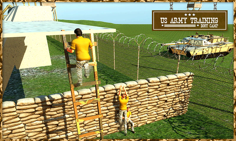 US Army Training Boot Camp 3D- screenshot