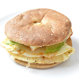 Sweet and Spicy Breakfast Sandwich.