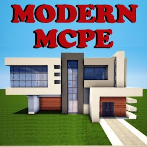 Modern houses for minecraft android apps on google play for Modern house minecraft pe 0 12 1