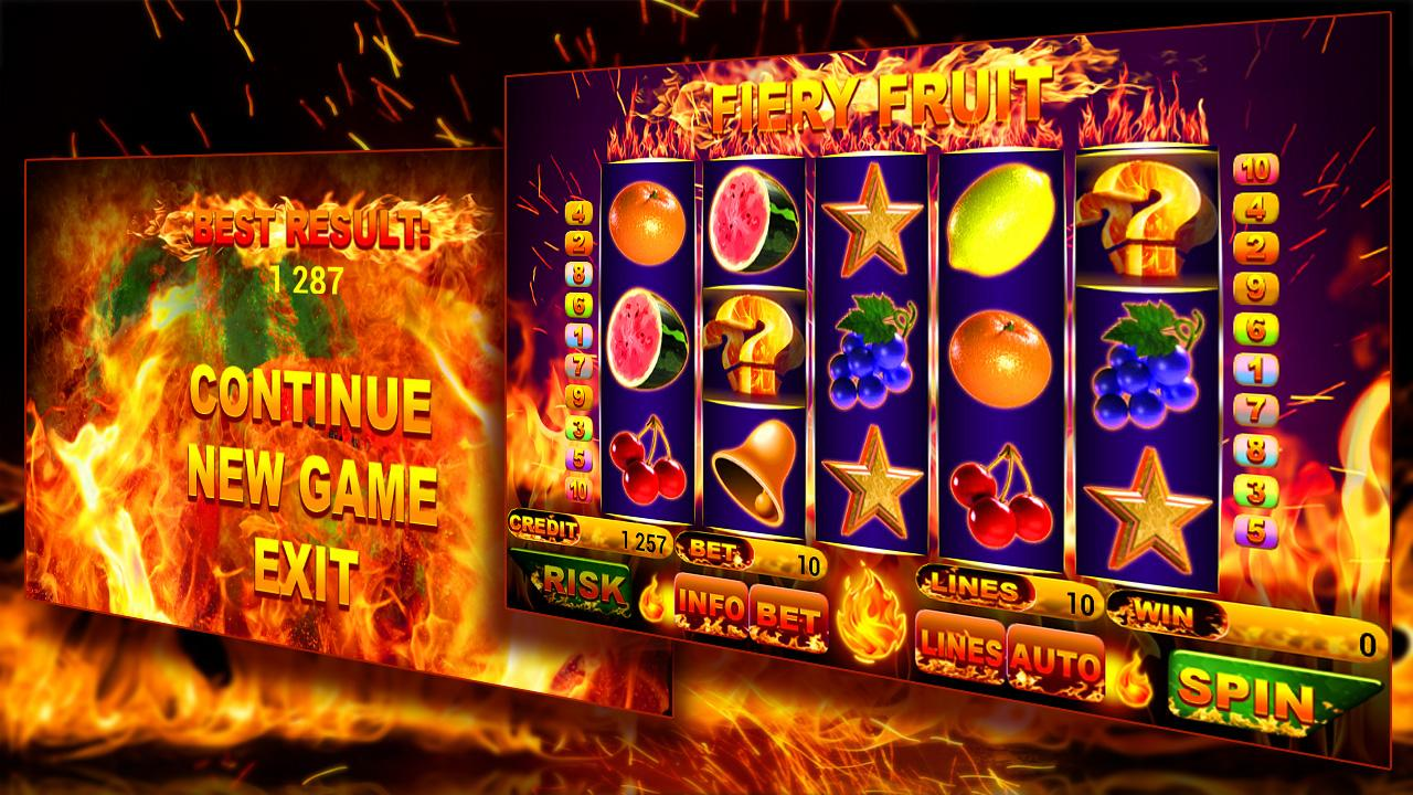 Fruits on Fire 2 Slot Machine - Play for Free & Win for Real