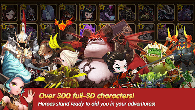 Quest RPG HEROES WANTED- screenshot