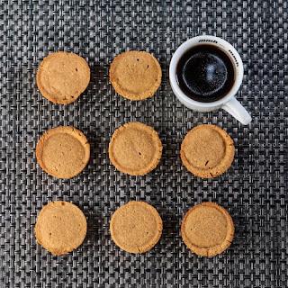 Sweet Potato Shortbread One-Bite Cookies.