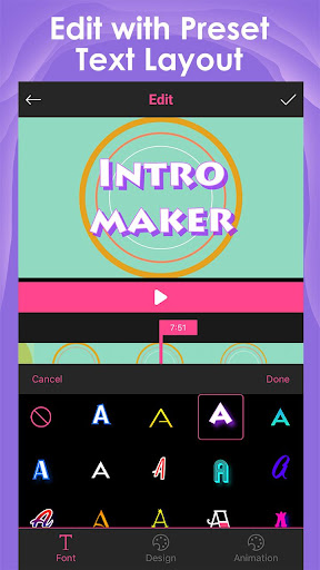 Intro Maker for YouTube - music intro video editor 2.2.1 screenshots 2