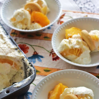 Peach Cobbler No-Churn Ice Cream Recipe