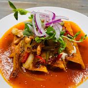 Enchiladas Vegetarianas (V)