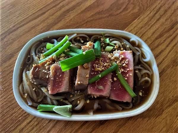 Golden Mountain Seasoning Tuna Noodle Bowl