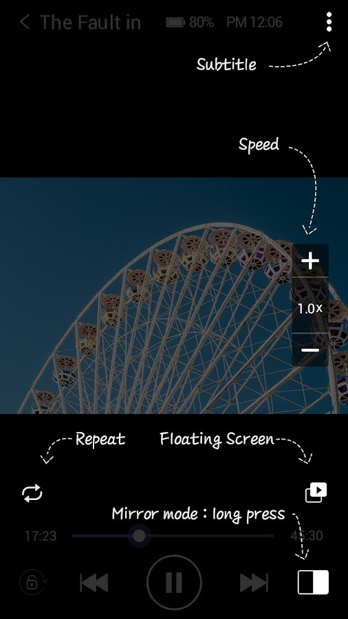 Screenshots of KMPlayer (Play, HD, Video) for iPhone