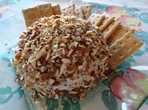 """Chocolate Chip Cheese Ball """"This one is just fabulous! I rolled mine..."""