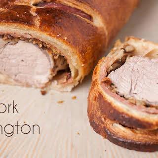 Pork Wellington.