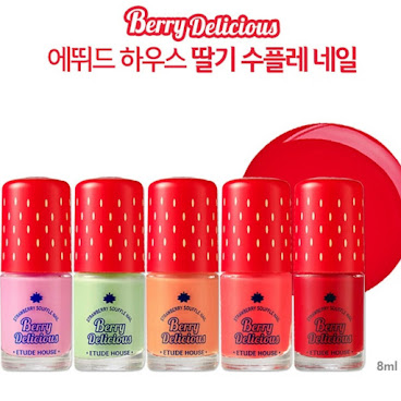 🍓Etude House Berry  指甲油系列 10色選🍓