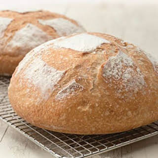 King Arthur Flour's No-Knead Crusty White Bread.