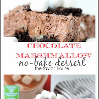 Chocolate Marshmallow No-Bake Dessert Recipe