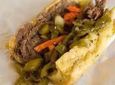 Chicago Style Italian Beef Sandwich Recipe
