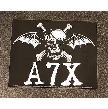 A7X - Klistermärke