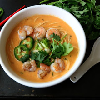 Spicy Thai Noodle Soup.