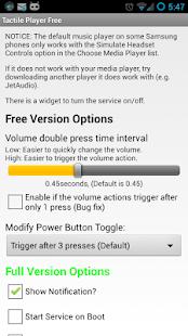 Tactile Player Free - screenshot thumbnail