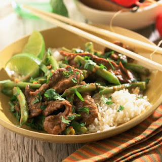 Easy Beef with String Beans