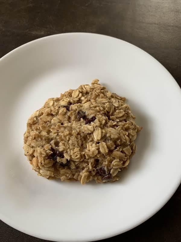 Yummy, Moist, Oaty Chocolate Chip Gooey Breakfast Or Anytime Treat.