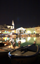 Photo: Le port d'Izola de nuit