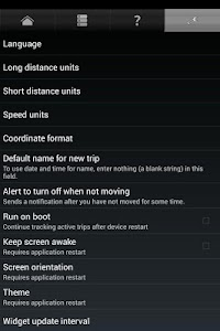 GPS Odometer screenshot 4