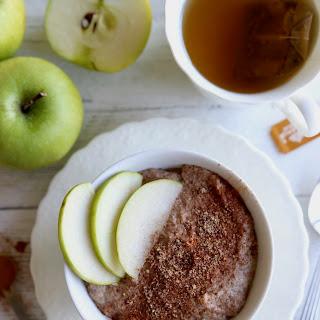 Grain-Free Apple Cinnamon Breakfast Porridge.